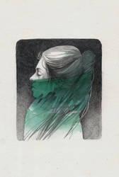 Atlantic girl by elia-illustration