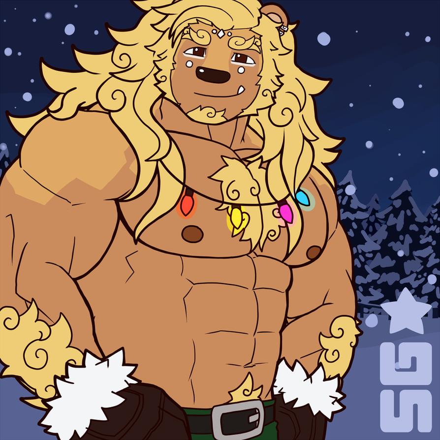 Big Komainu guy by MonsterGuitar