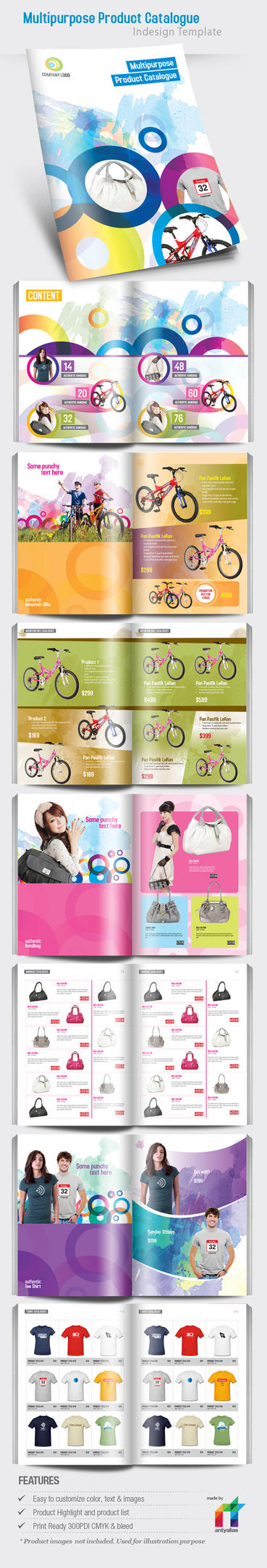 Mutipurpose Product Catalog by antyalias
