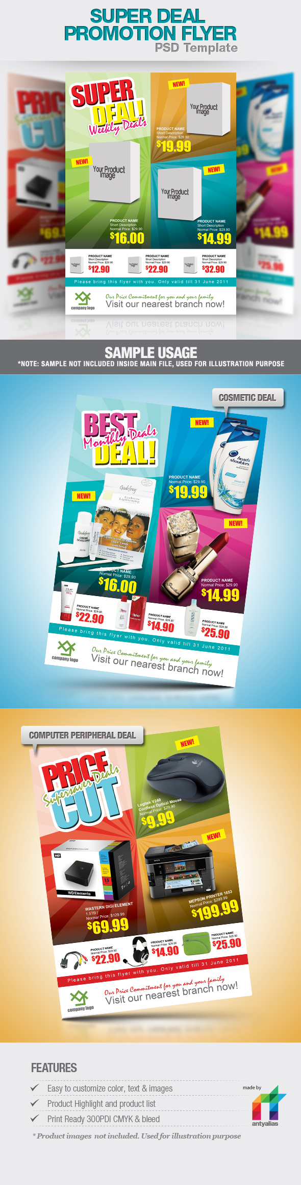 Super Deal Promotion Flyer by antyalias