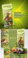 Healthy Food Menu Brochure by antyalias