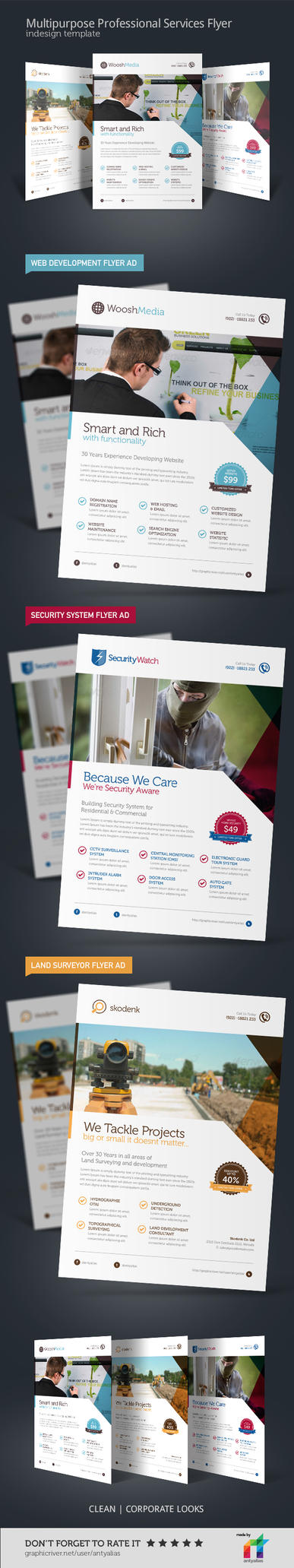 Multipurpose Professional Services Flyer by antyalias