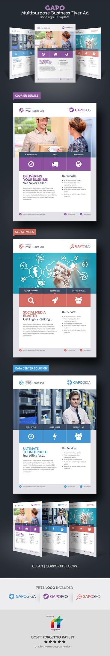 GAPO Multipurpose Business Flyer Ad by antyalias