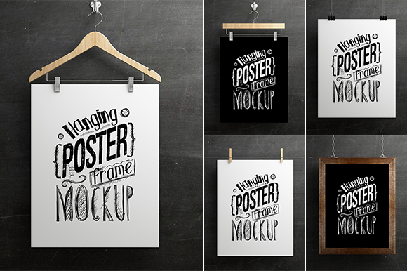 Preview Hanging Poster Mockup01 by antyalias