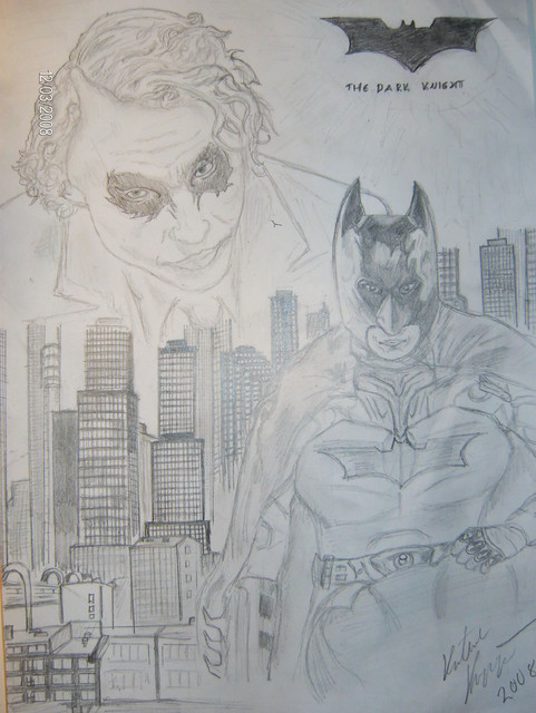Batman and The Joker by katzifilth