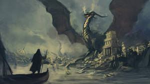 Dragon of Pendor (from my Earthsea project) by tsomer
