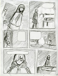 Sineater Page 1 Rough by ChasePD