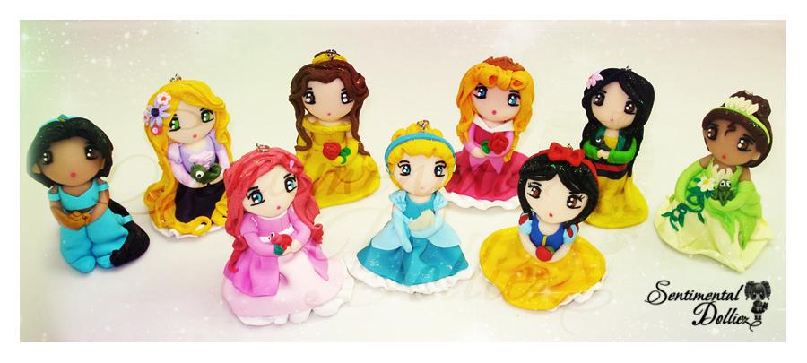 My Kawaii Disney Princesses by SentimentalDolliez