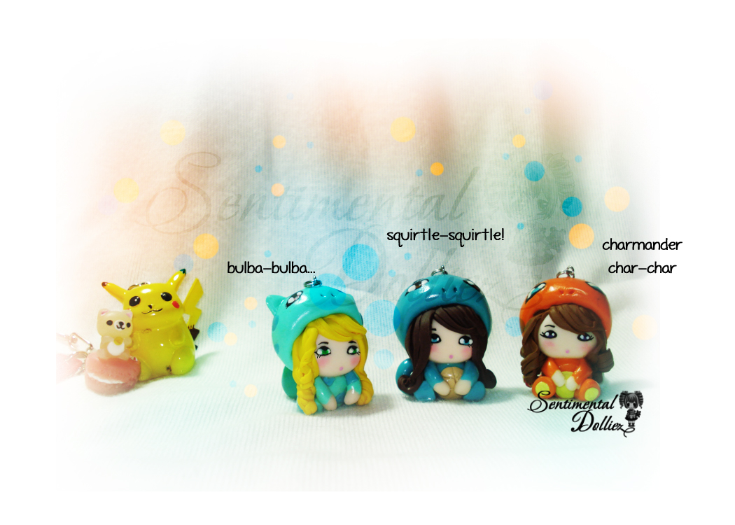 Little Chibi Pokemon Costumes by SentimentalDolliez