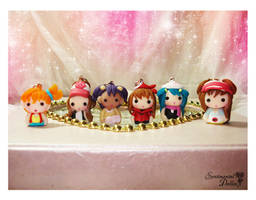 Chibi Chibi Pokemon Girls by SentimentalDolliez