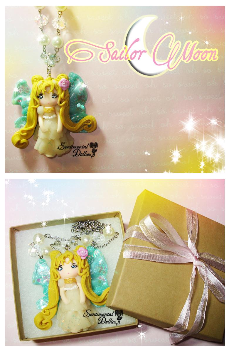 Princess Serena Sailor Moon Necklace by SentimentalDolliez