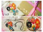 Adventure Times Girls Kawaii Pendant Necklace