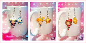 Pokemon Ladies Kawaii Earrings by SentimentalDolliez