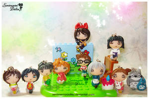 Studio Ghibli Series Kawaii Charms by SentimentalDolliez