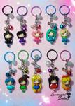 Sailor Moon Crystal Keychains