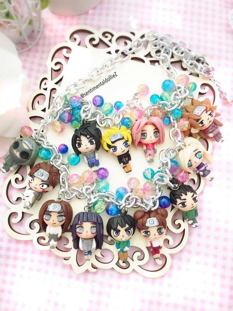 Konoha Shinobi Statement necklace by SentimentalDolliez
