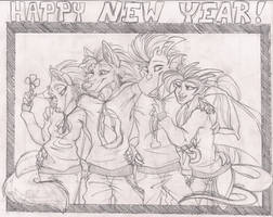 Happy New Year 2013 by StangWolf