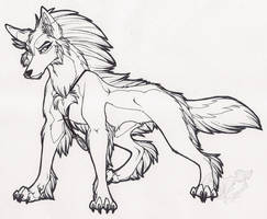 Feral Tala Ink by StangWolf