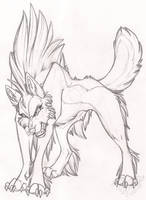 Vicious Sketch by StangWolf