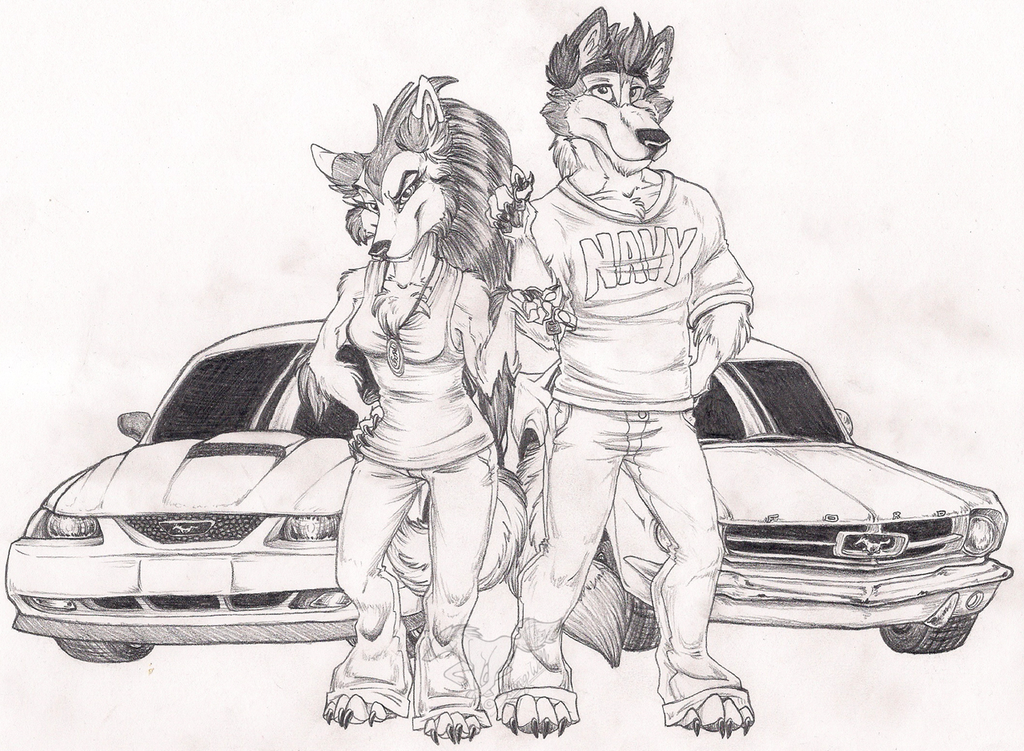 Stang Wolves by StangWolf