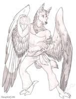 WING-IT: Gargoyle Auric by StangWolf