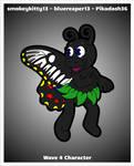 FNaF OC - Sara the Butterfly