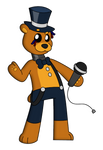 Withered Golden Freddy - FNaF AU by smokeykitty13