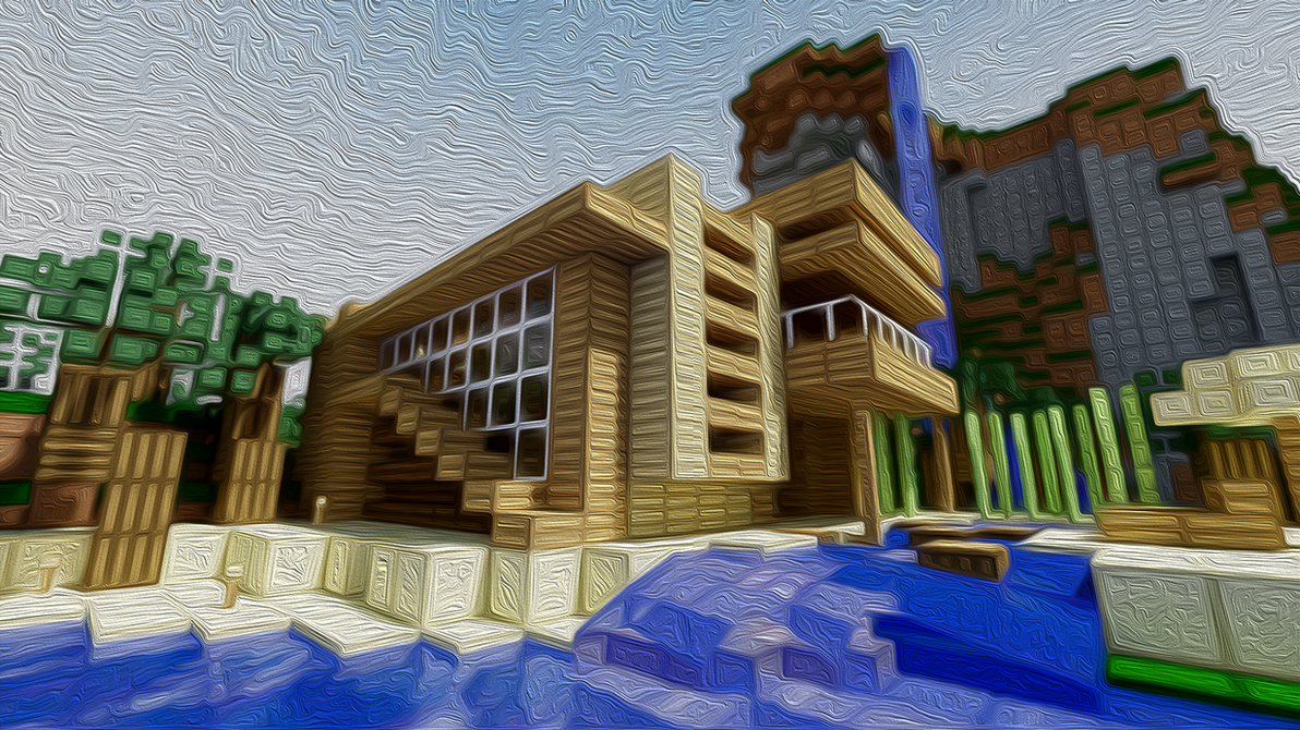 Minecraft Modern house by Djolanderr on DeviantArt