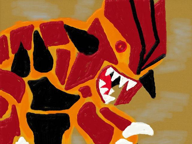 Primal groudon by rainygami
