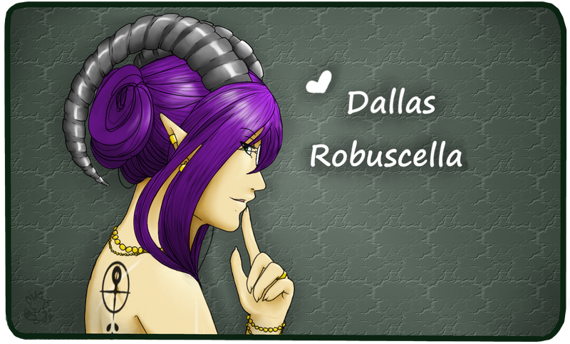 Dallas Robuscella by psychofoxpickle
