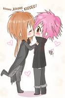 Kisses, kisses...KISSES by Bou-wa