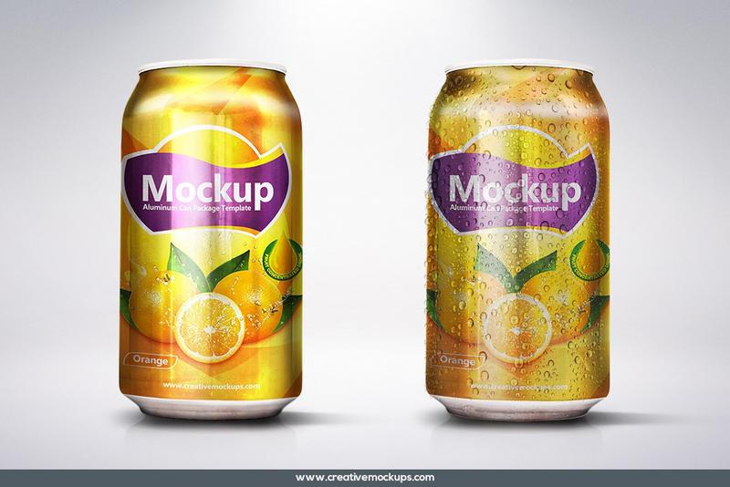 soda can mockup template by creativemockups on deviantart