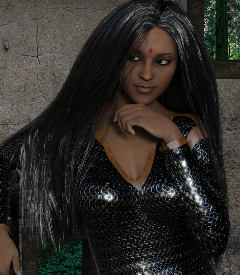 Deepa Patil - Close up by Sheena-Tiger
