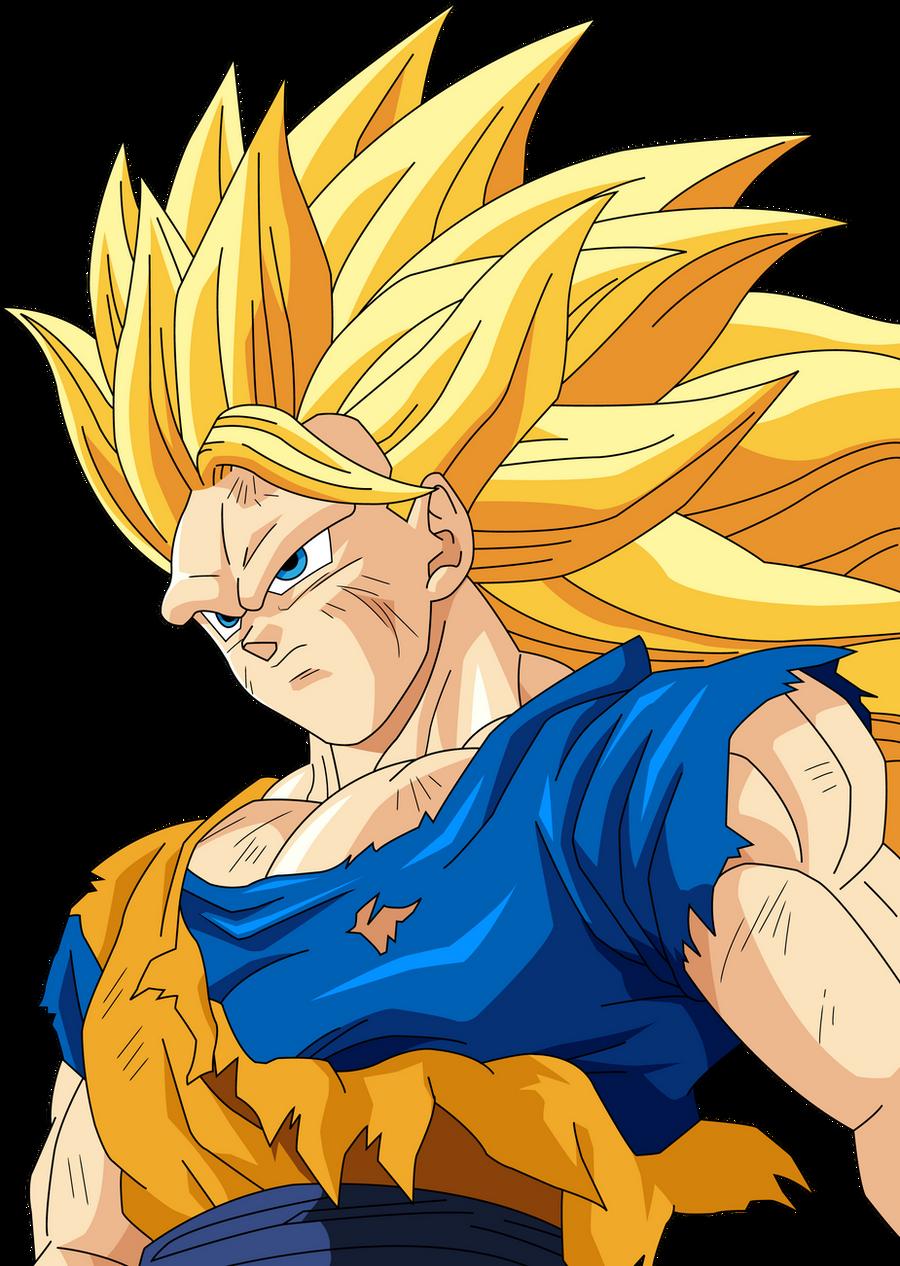Goku Super Saiyan  Coloring Pages #4