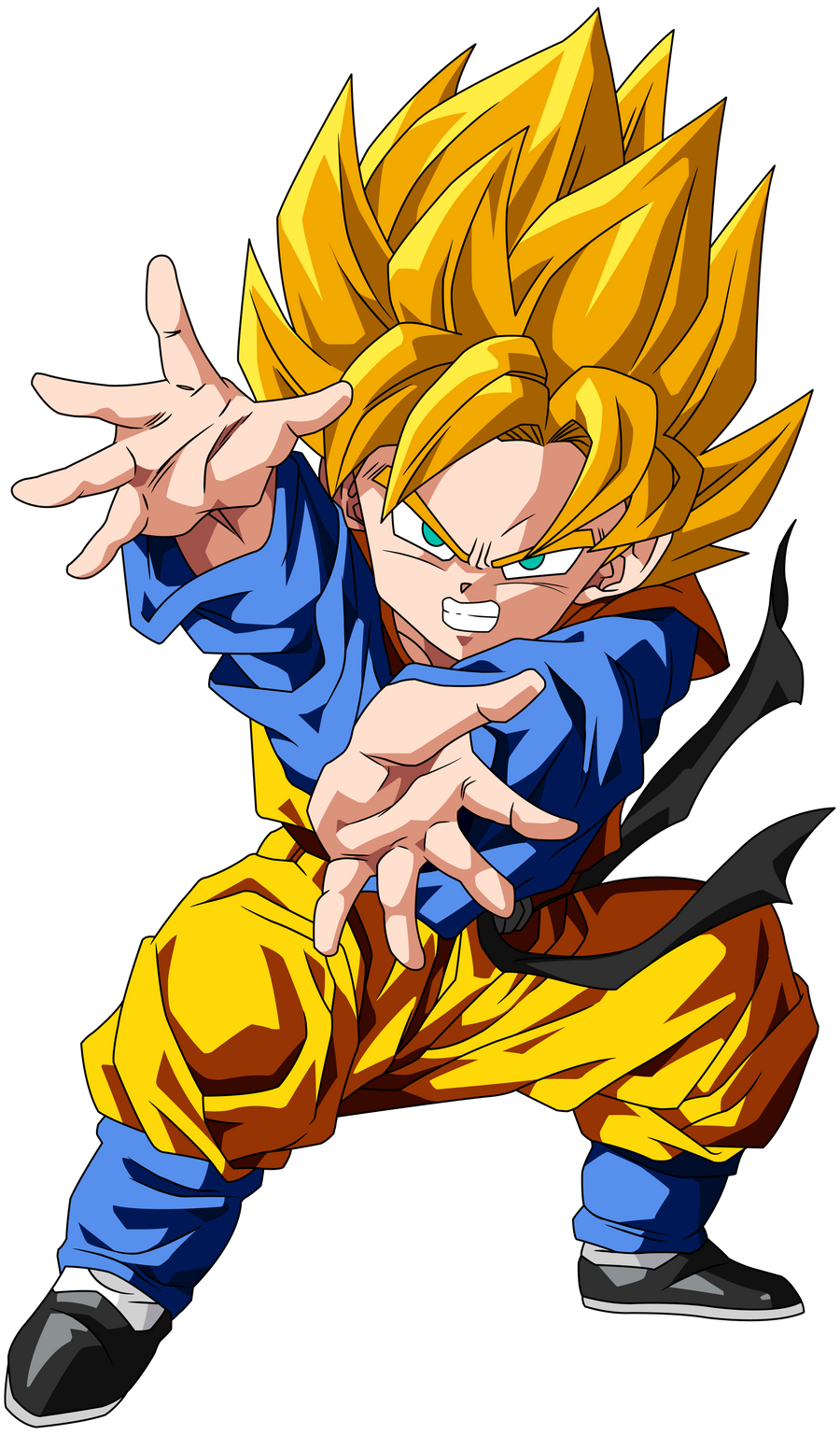Dragon Ball Z Goten and Trunks Super Saiyan