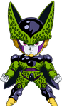 perfect cell chibi