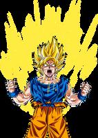 goku super saiyan by maffo1989