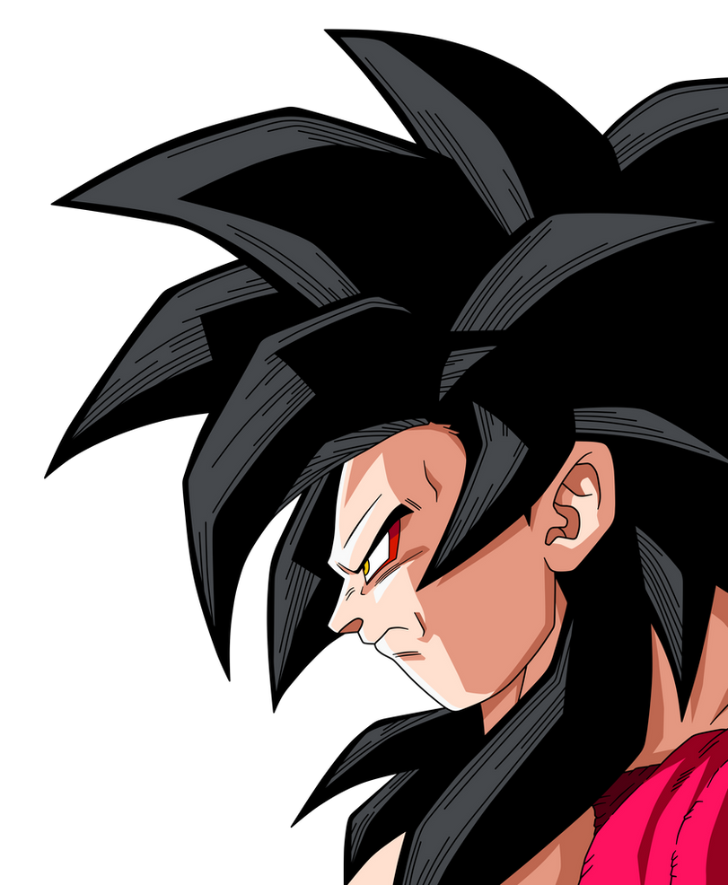 Goku Ssj4 Face By Maffo1989 On DeviantArt