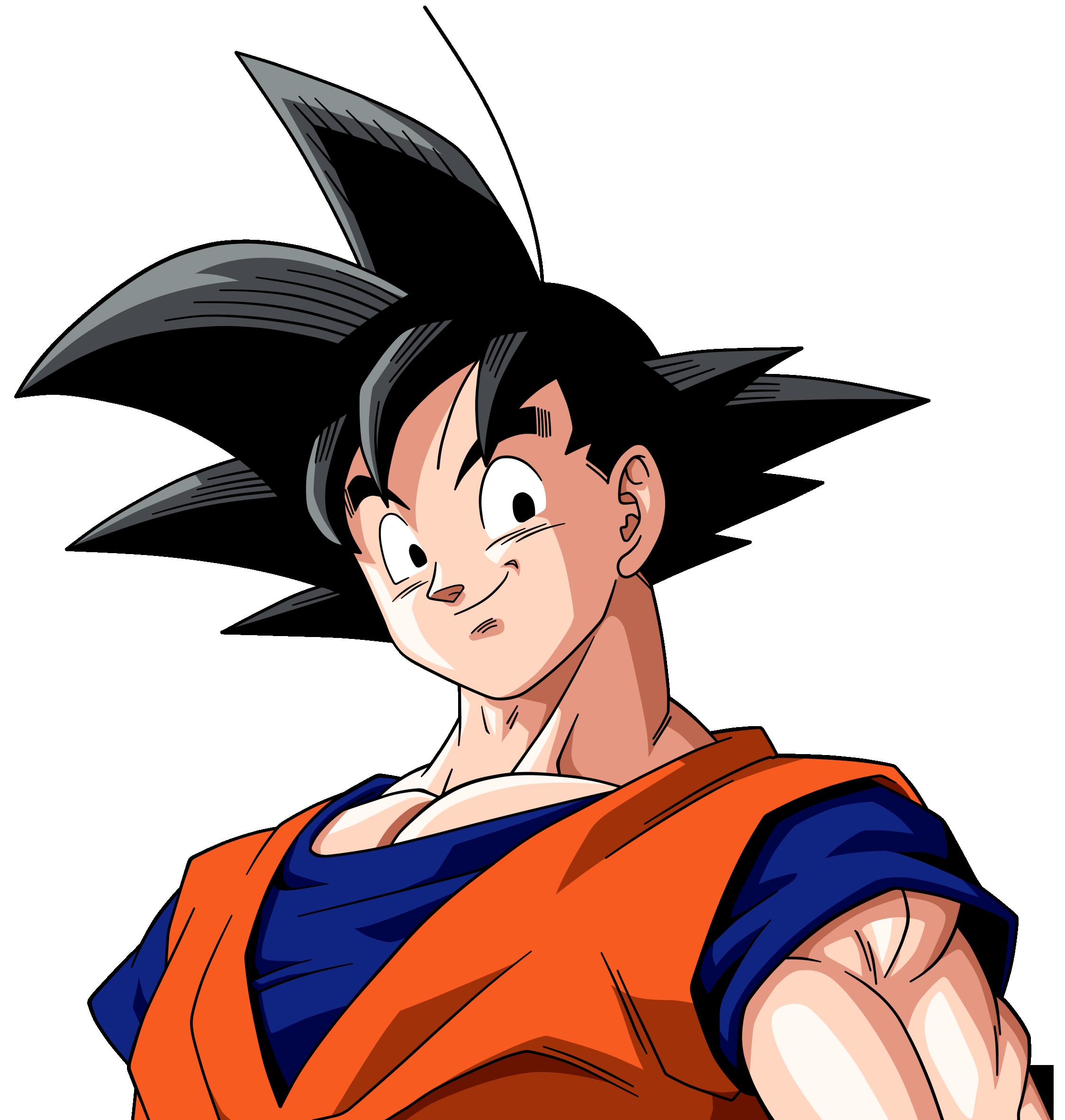 Goku es la persona que marco mi infancia  como la de muchosGoku