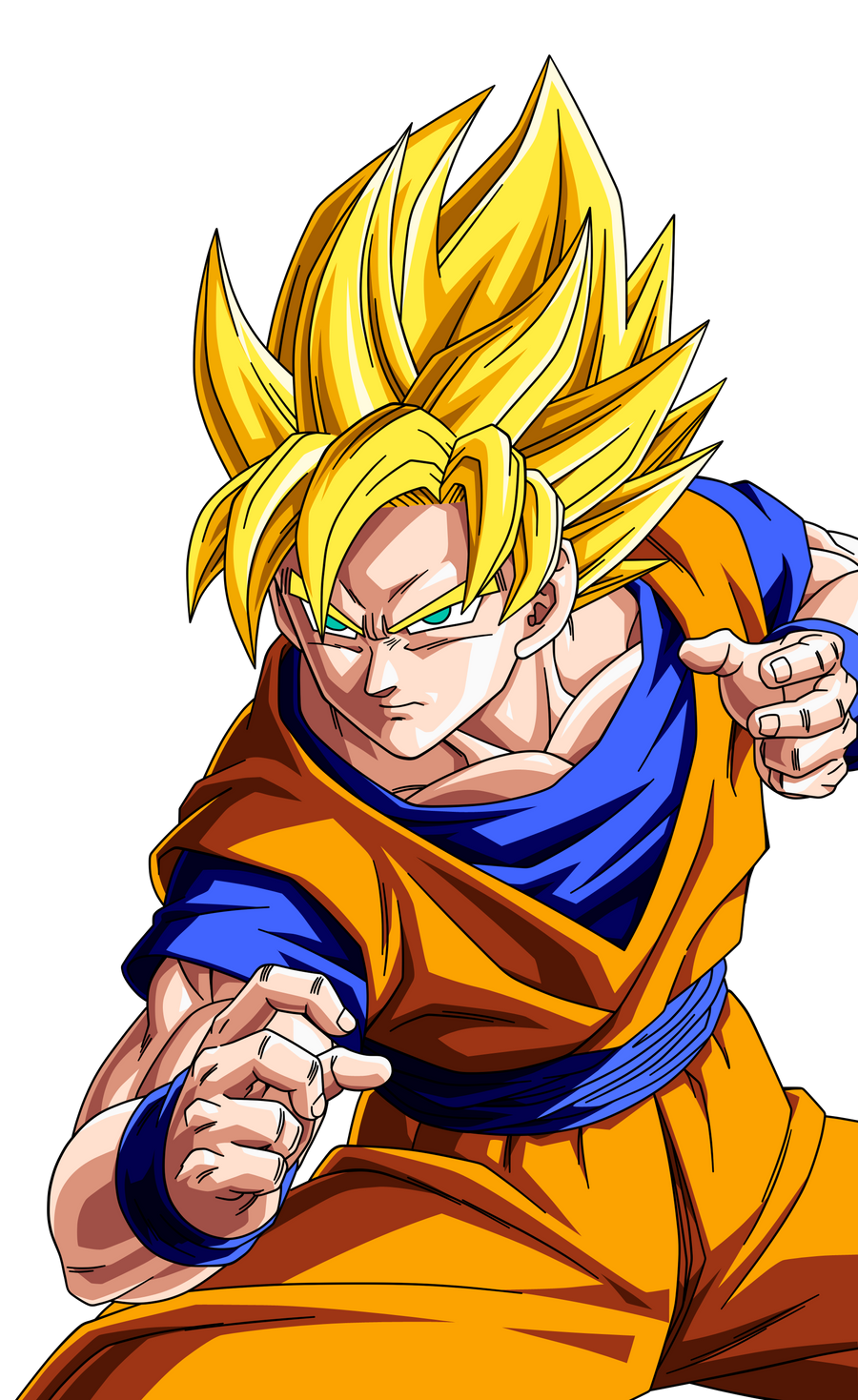 classify and place goku