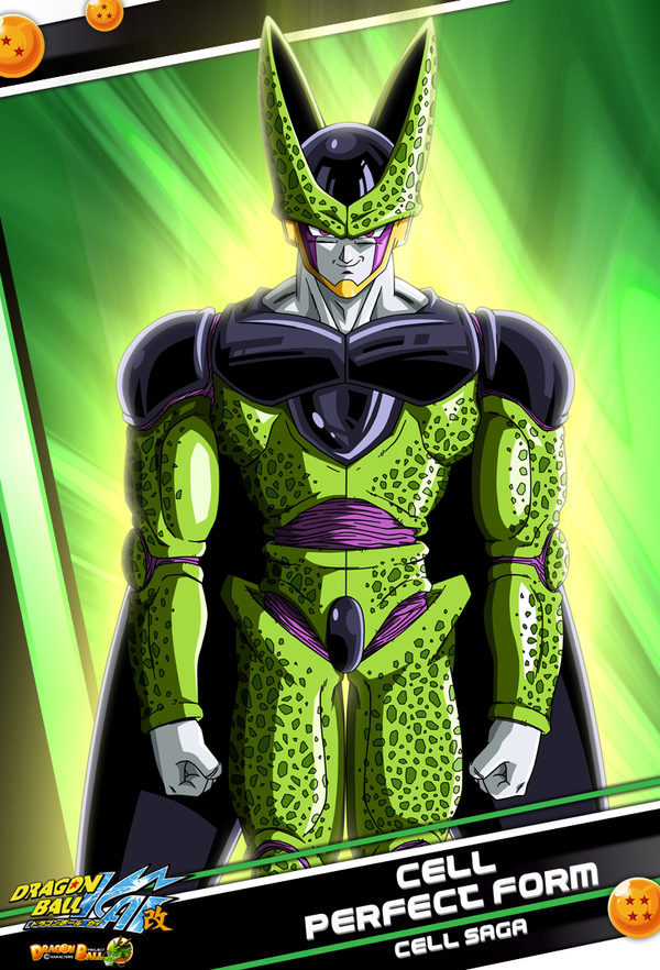Cell Perfect Form by maffo1989 on DeviantArt