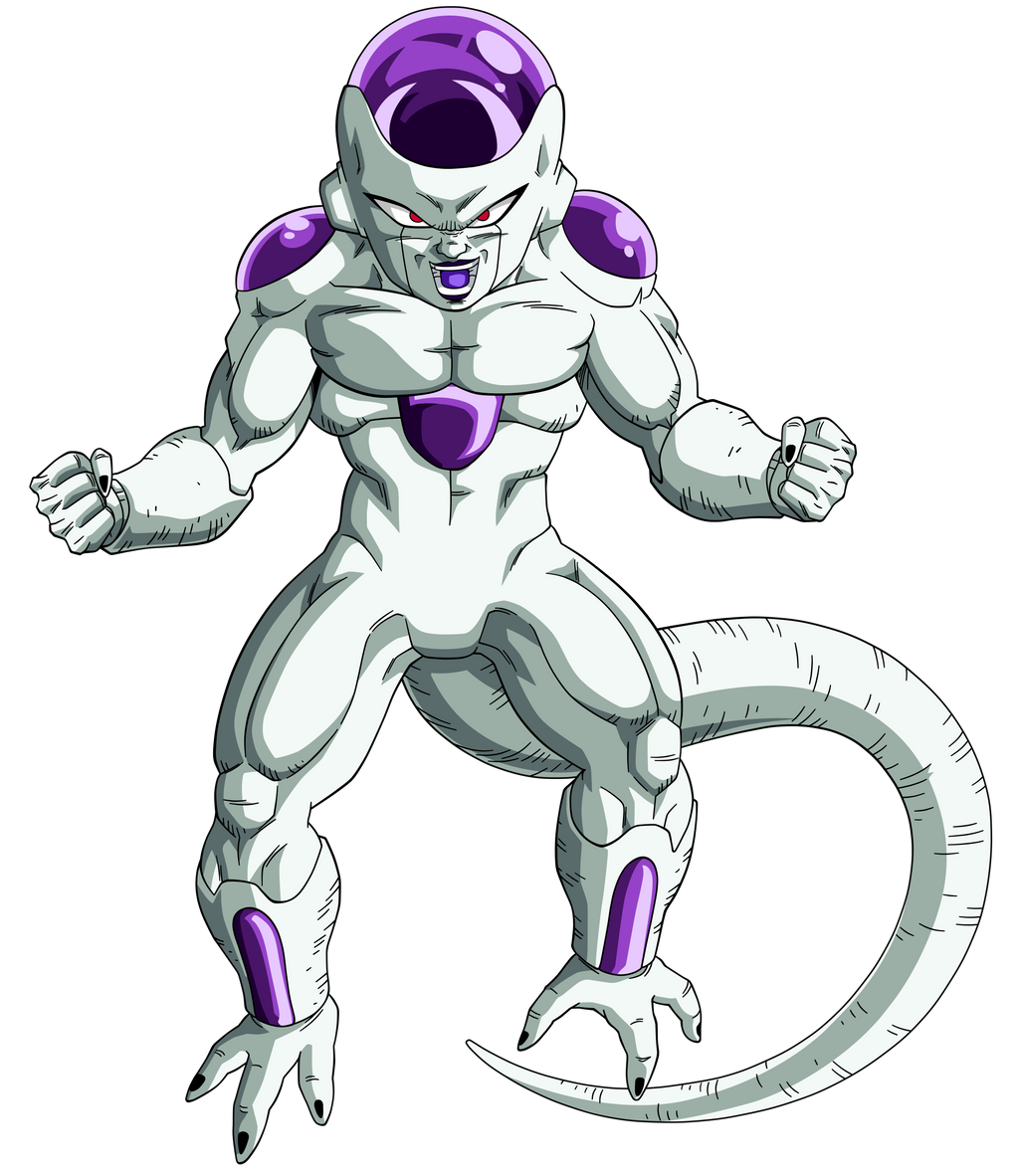 Joa Full Transformation Png: Frieza Final Form By Maffo1989 On DeviantArt