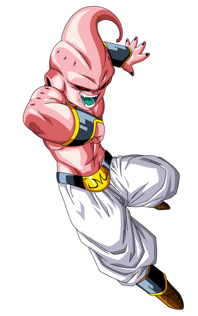 Majin Buu Pure Form by maffo1989