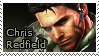 Chris Redfield Stamp 1 by Claire-Revelations