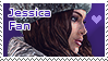 Jessica Sherawat Stamp 3 by Claire-Revelations