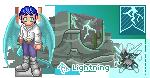Lightning Flight by pyratictiger