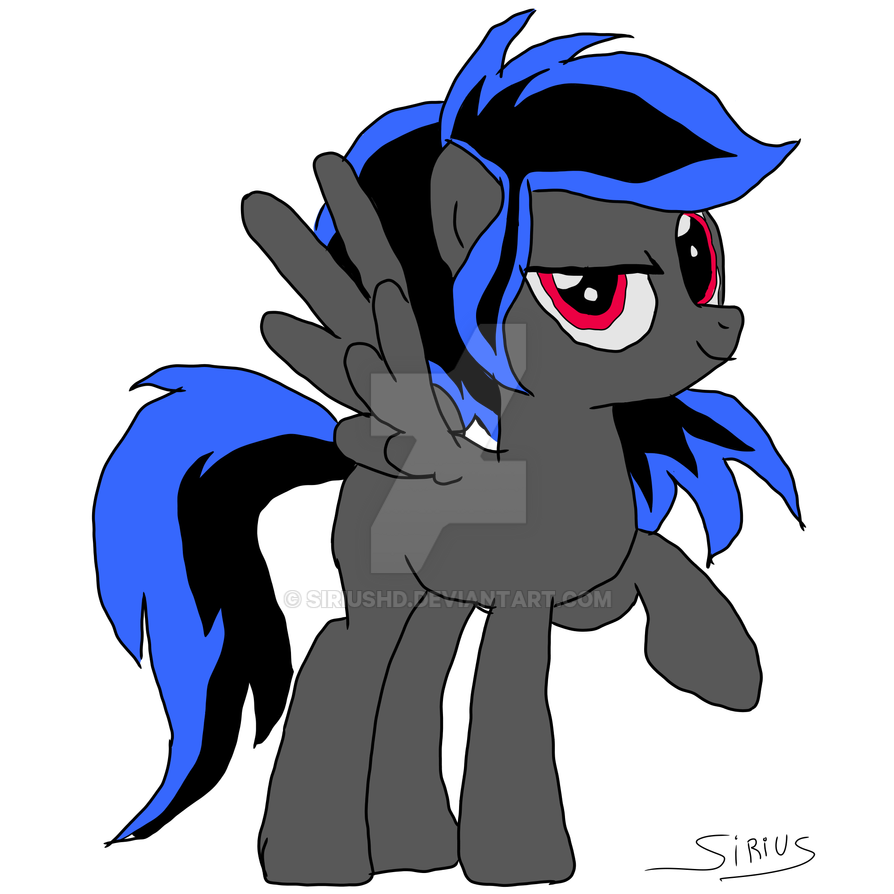 Comissions Rainbow Thunder by SiriusHD