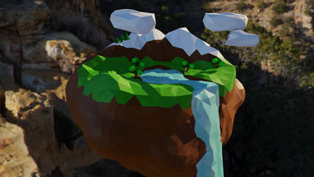 Low Poly Island by SiriusHD