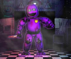 Purple Guy Animatronic | Stylized version of hoax