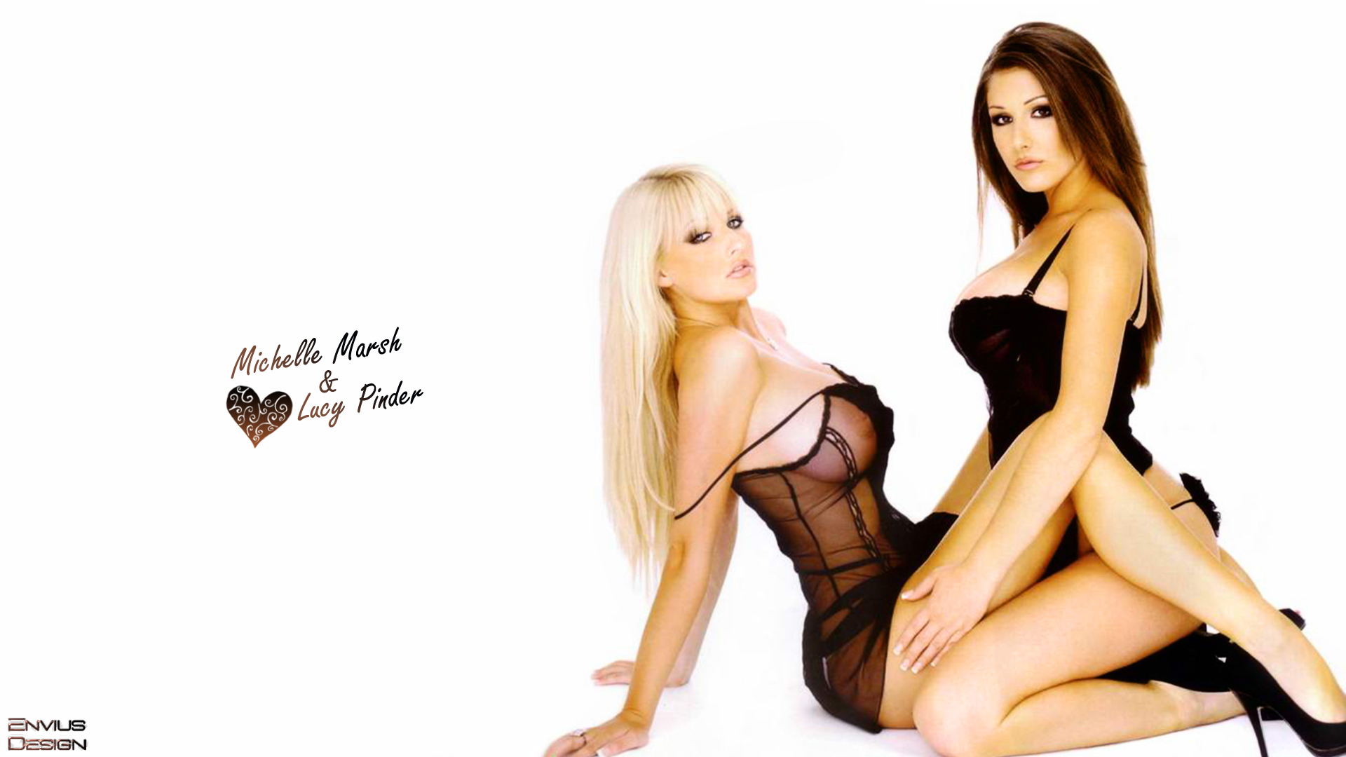 Lucy+Pinder+Michelle+Marsh+Wallpaper Lucy Pinder Michelle Marsh Kiss ...
